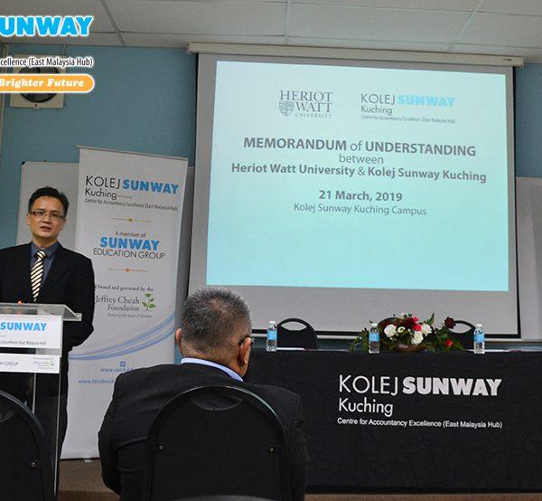 Memorandum of Understanding (Mou) With Heriot Watt University, Malaysia