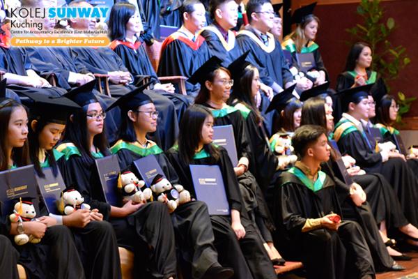 Sunway College Kuching's 23rd Graduation Ceremony