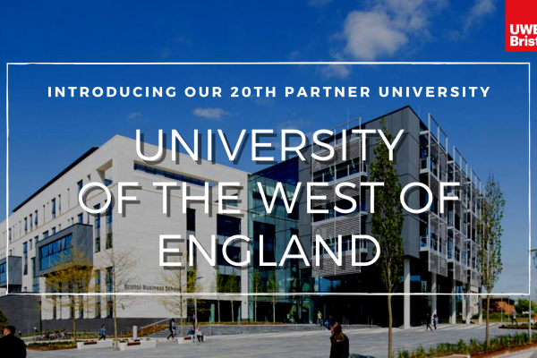 Introducing UWE Bristol As Our 20th Partner University