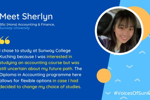 Meet Sherlyn #VoicesOfSunway